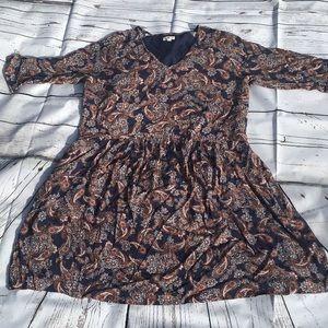 Garnet Hill paisley dress